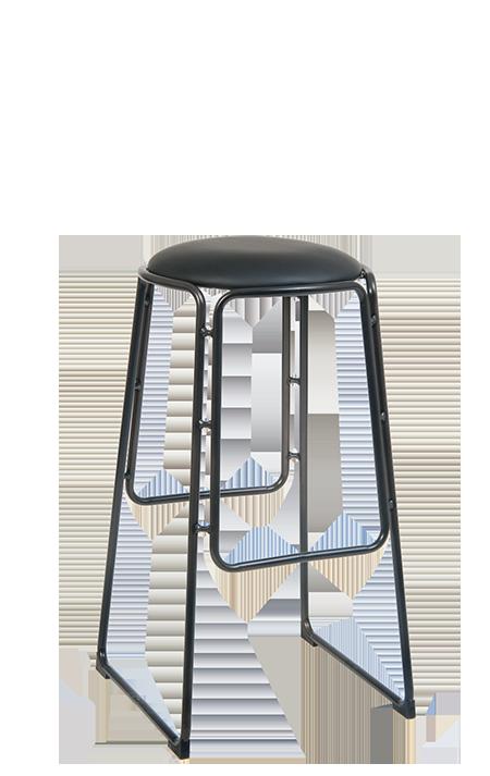 Peachy Stackable Black Steel Bar Stool With Black Vinyl Seat Uwap Interior Chair Design Uwaporg