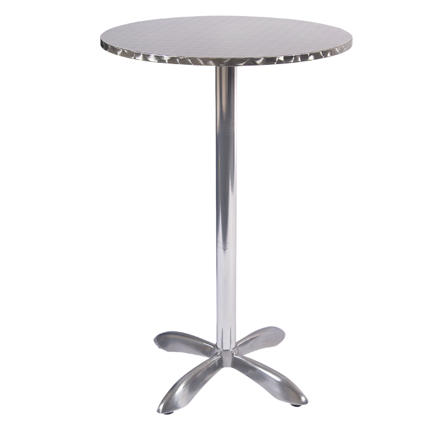 Aluminum Patio Bar Table Round