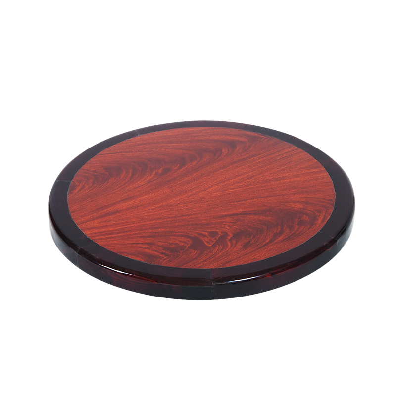 Awe Inspiring Round Resin Table Top With Wood Edge Cherry Dark Andrewgaddart Wooden Chair Designs For Living Room Andrewgaddartcom